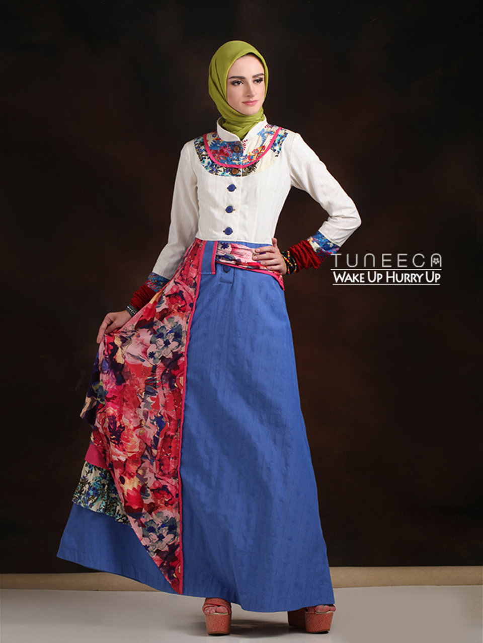 05 Long dress muslim simple