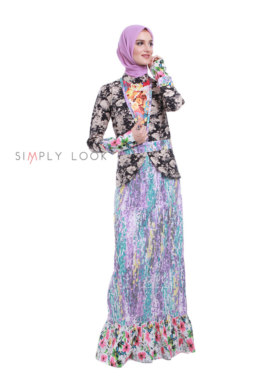 08 Lovely Color Gamis B