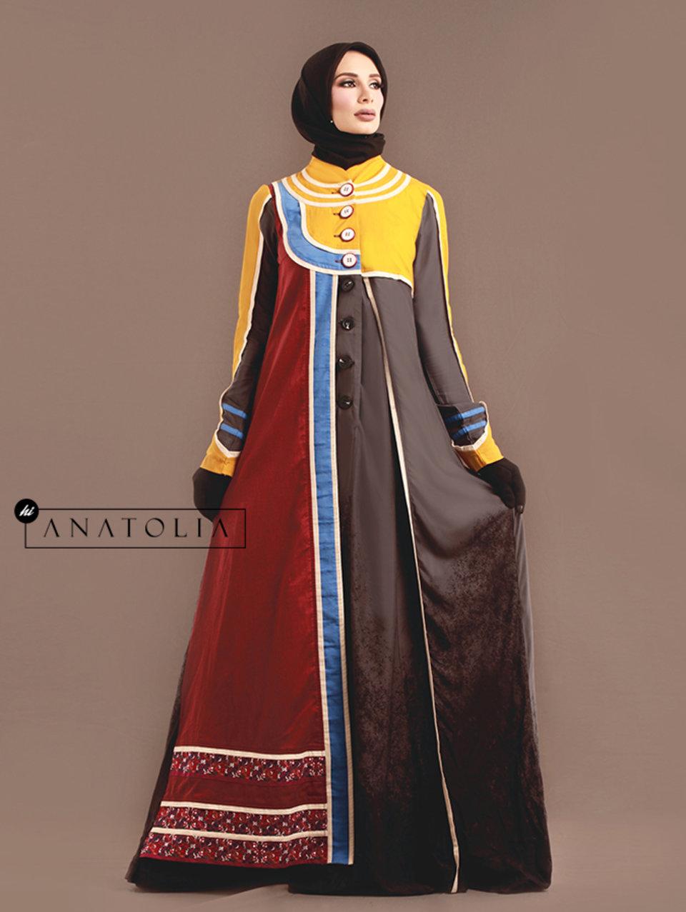 09 Abaya Modern Bordir Elegan