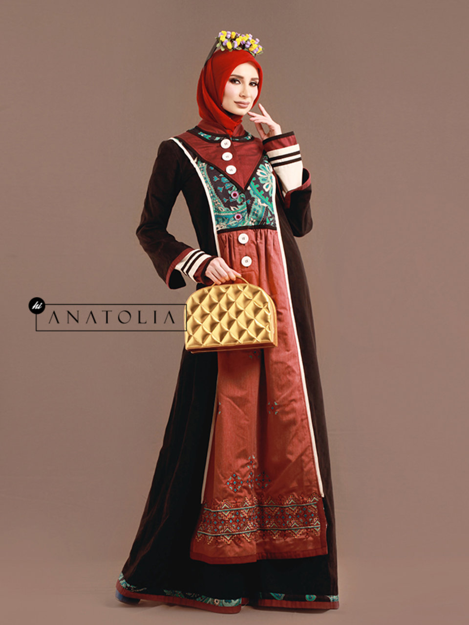 14 Abaya Dress Bordir