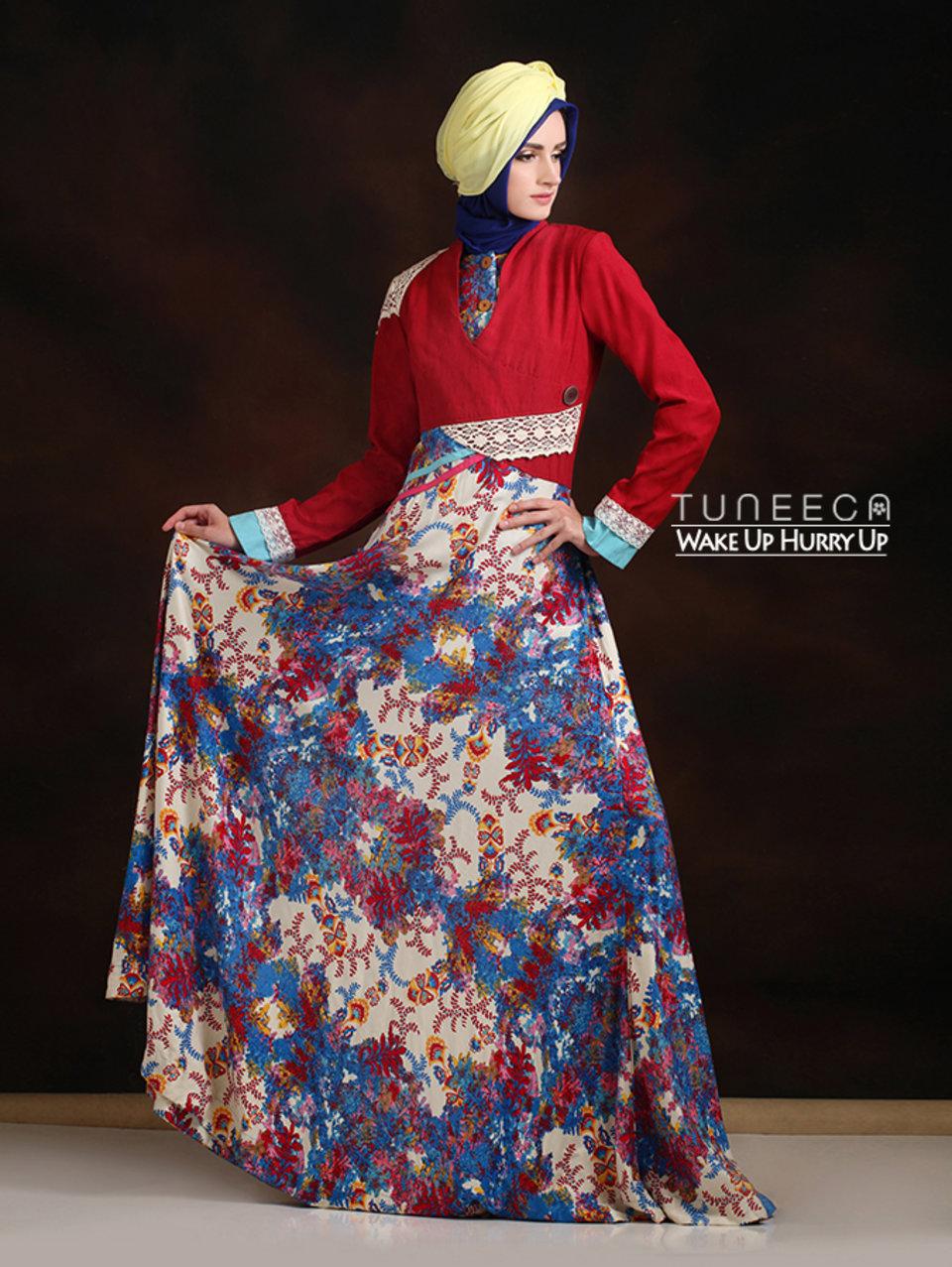 28 Maxi dress gaya boho