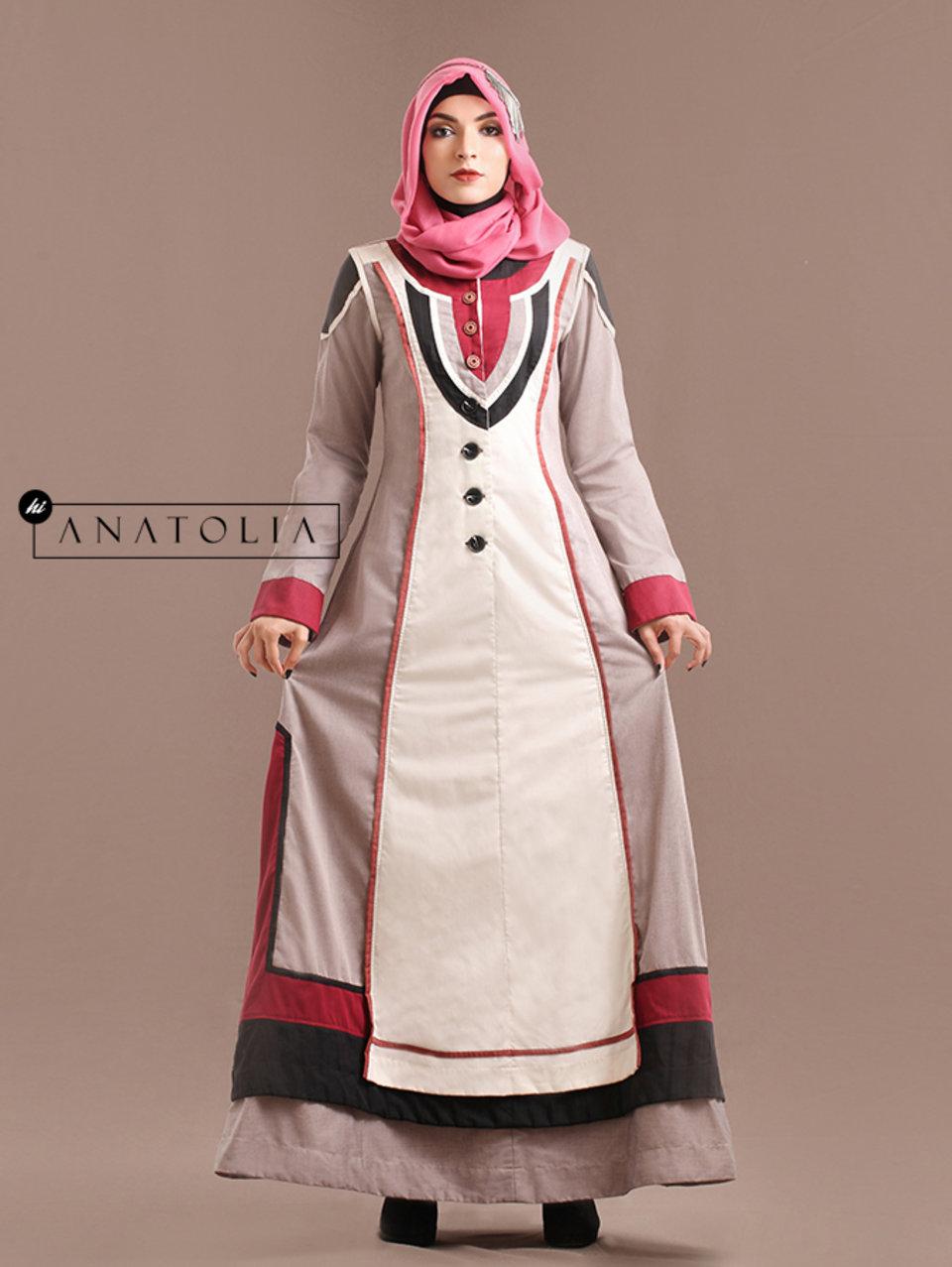 30 Abaya Dress Feminin Elegan