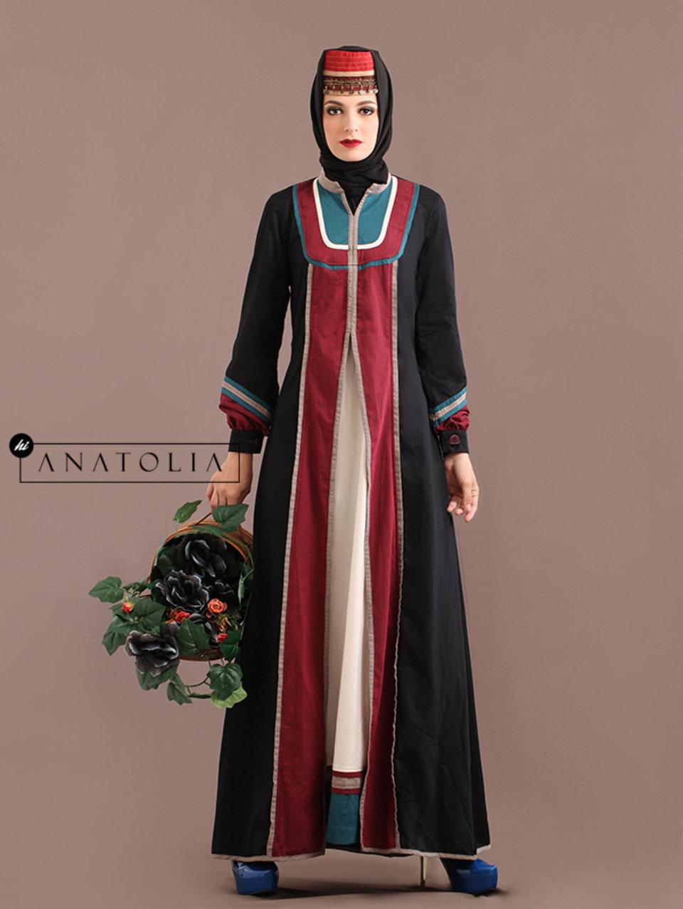 36 Abaya Cantik Elegan Hitam