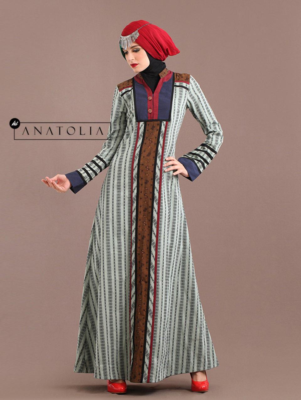 39 Abaya Dress Icy Blue