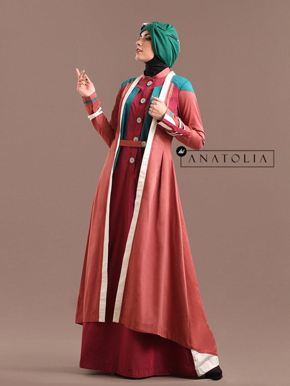 56 Abaya Coat Muslim Terkini