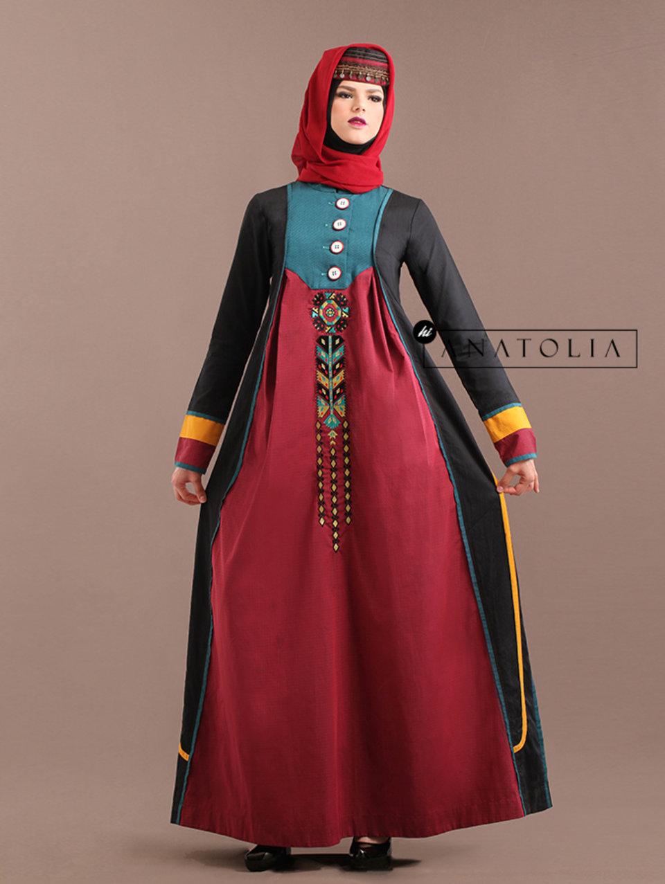 67 Abaya Turki Bordir Terbaru