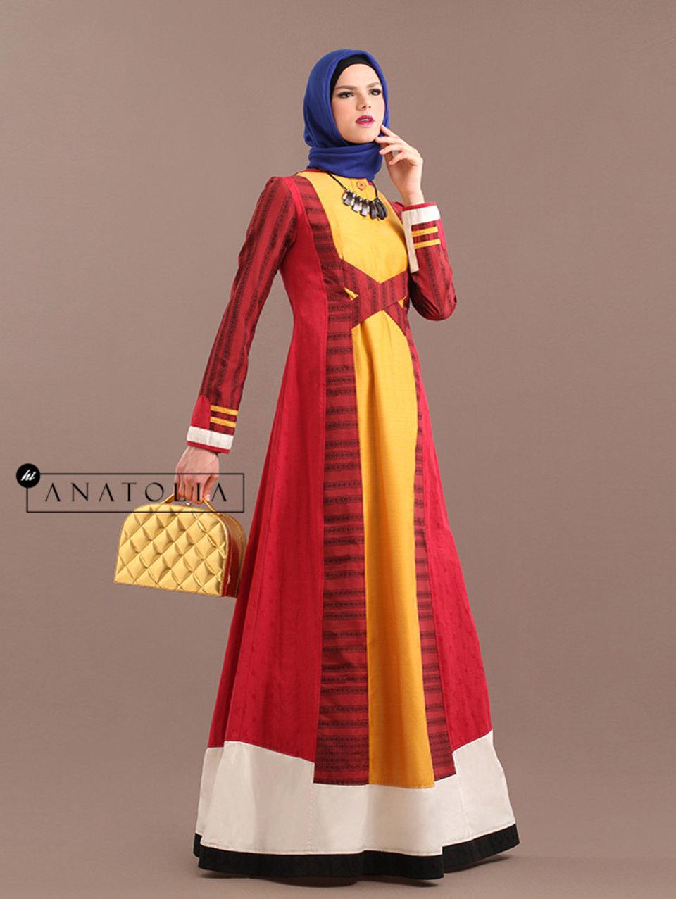 88 Long Dress Muslim Pesta