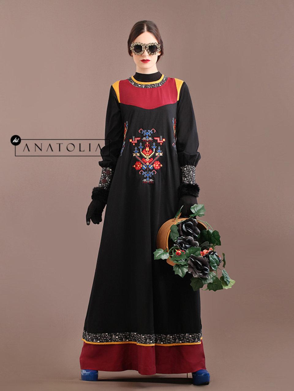 90 Abaya Dress Elegan Bordir