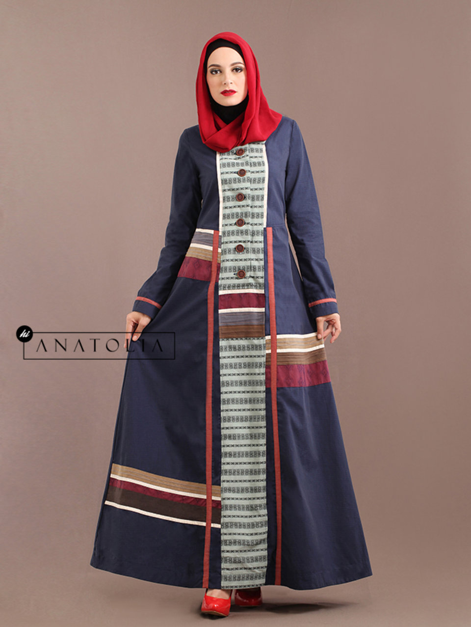 96 Abaya Dress Navy