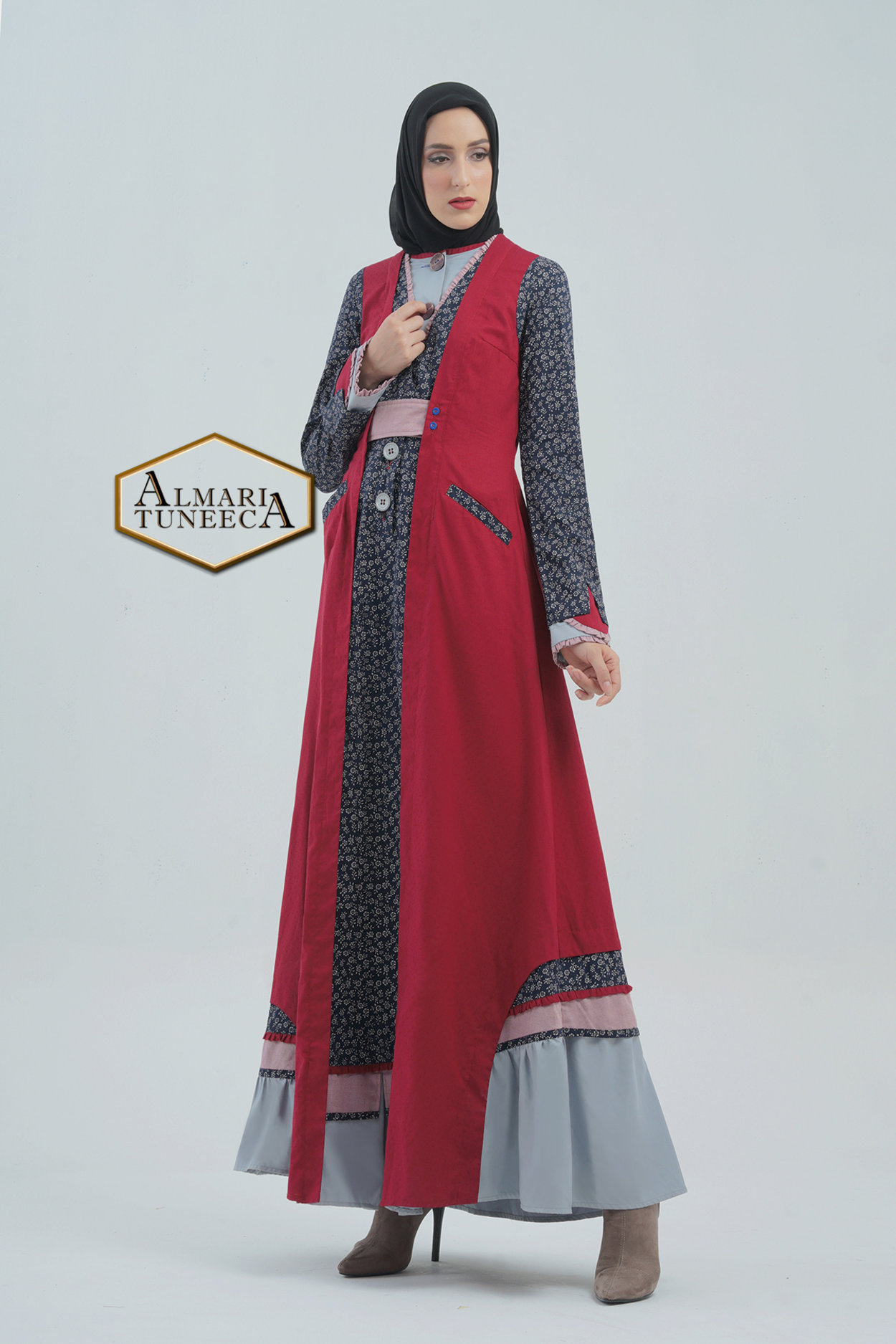 Gamis Tuneeca Model Baju Tuneeca Terbaru 2020 Hijabfest