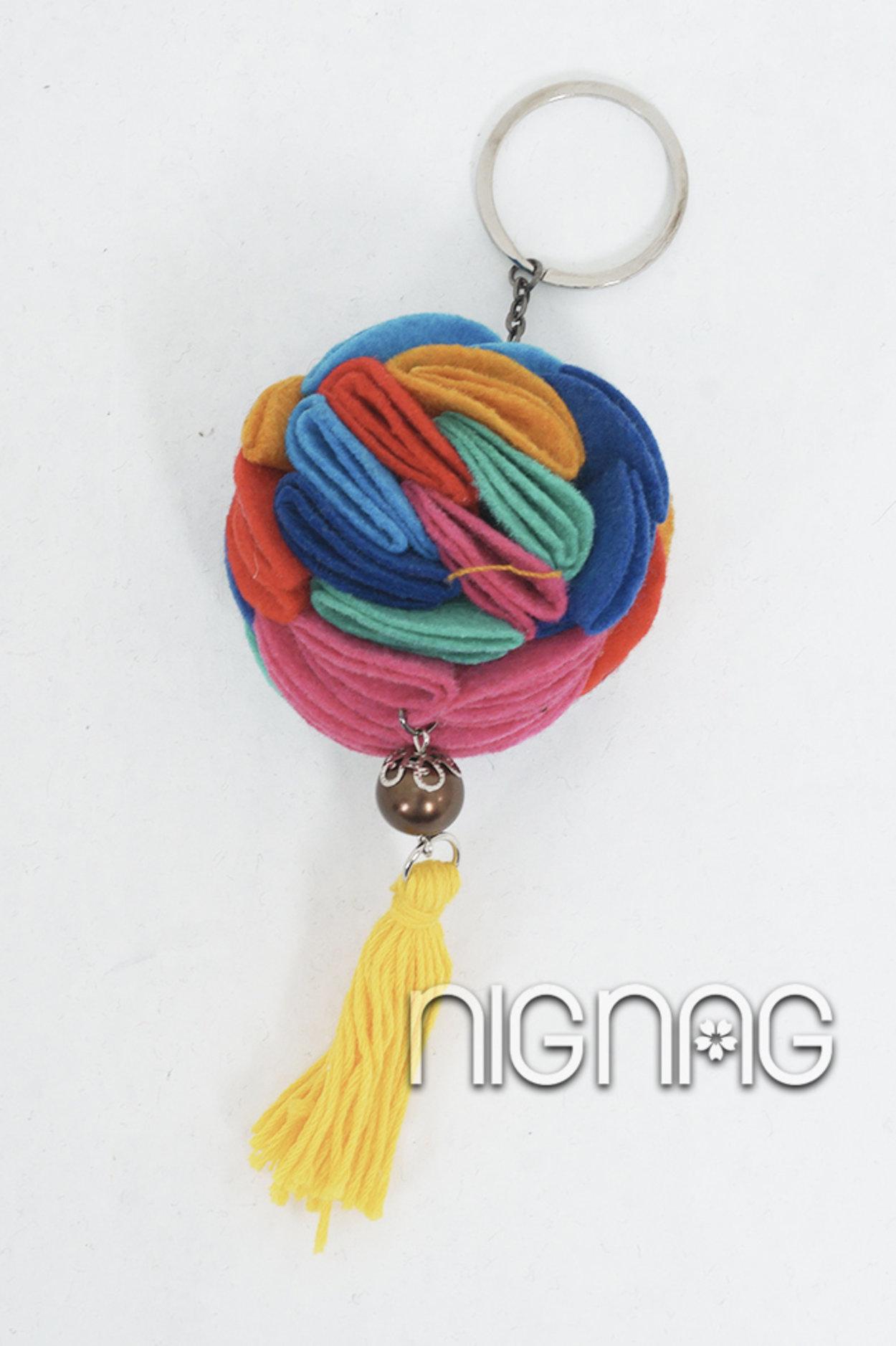 N-1219002 (Gantungan Kunci Mawar Rainbow)-