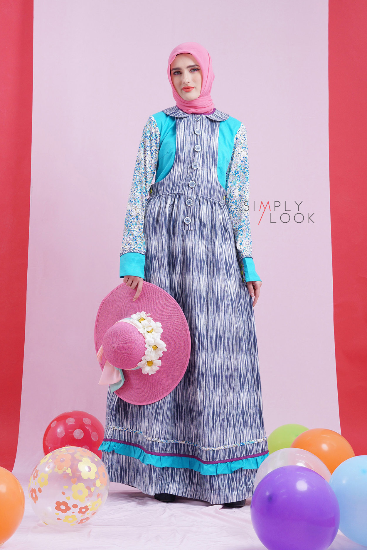 My Only One Sl 0218002 Gamis Long Dress I Miss Being Little Tuneeca