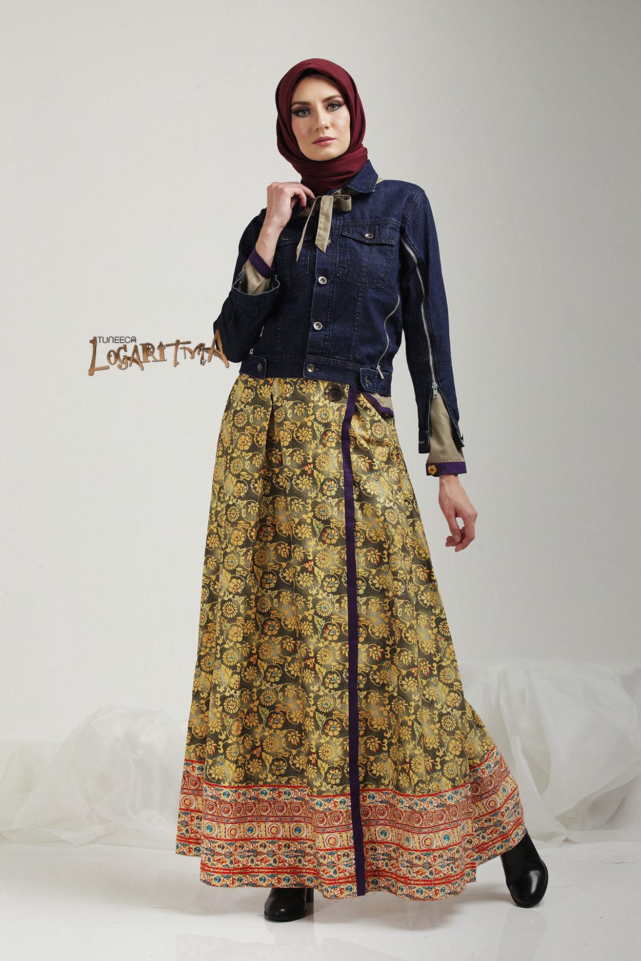 Extraordinary Look T 0417040 Gamis Long Dress Logaritma Tuneeca