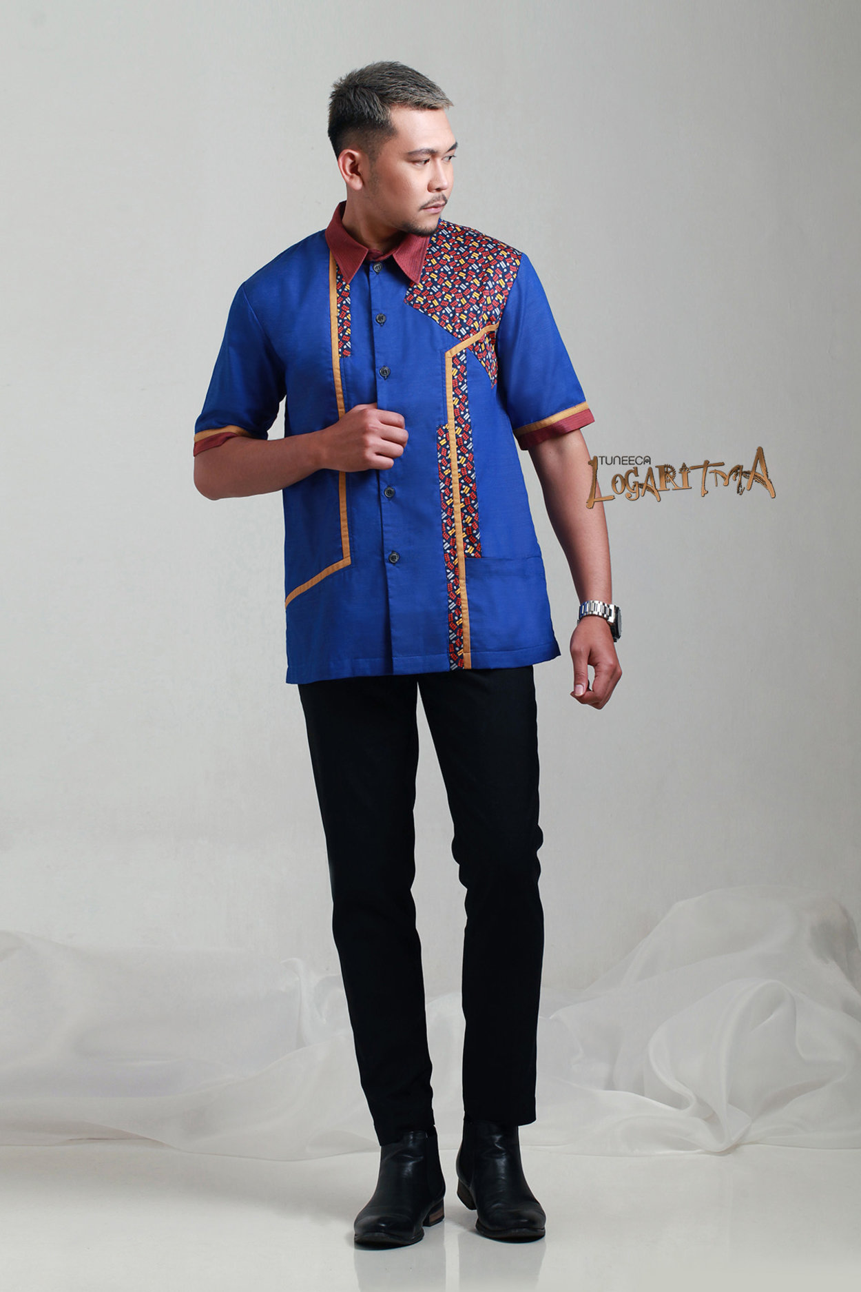 A Polite Man T 0417043 Baju Koko Mens Wear Logaritma Tuneeca Modern 11