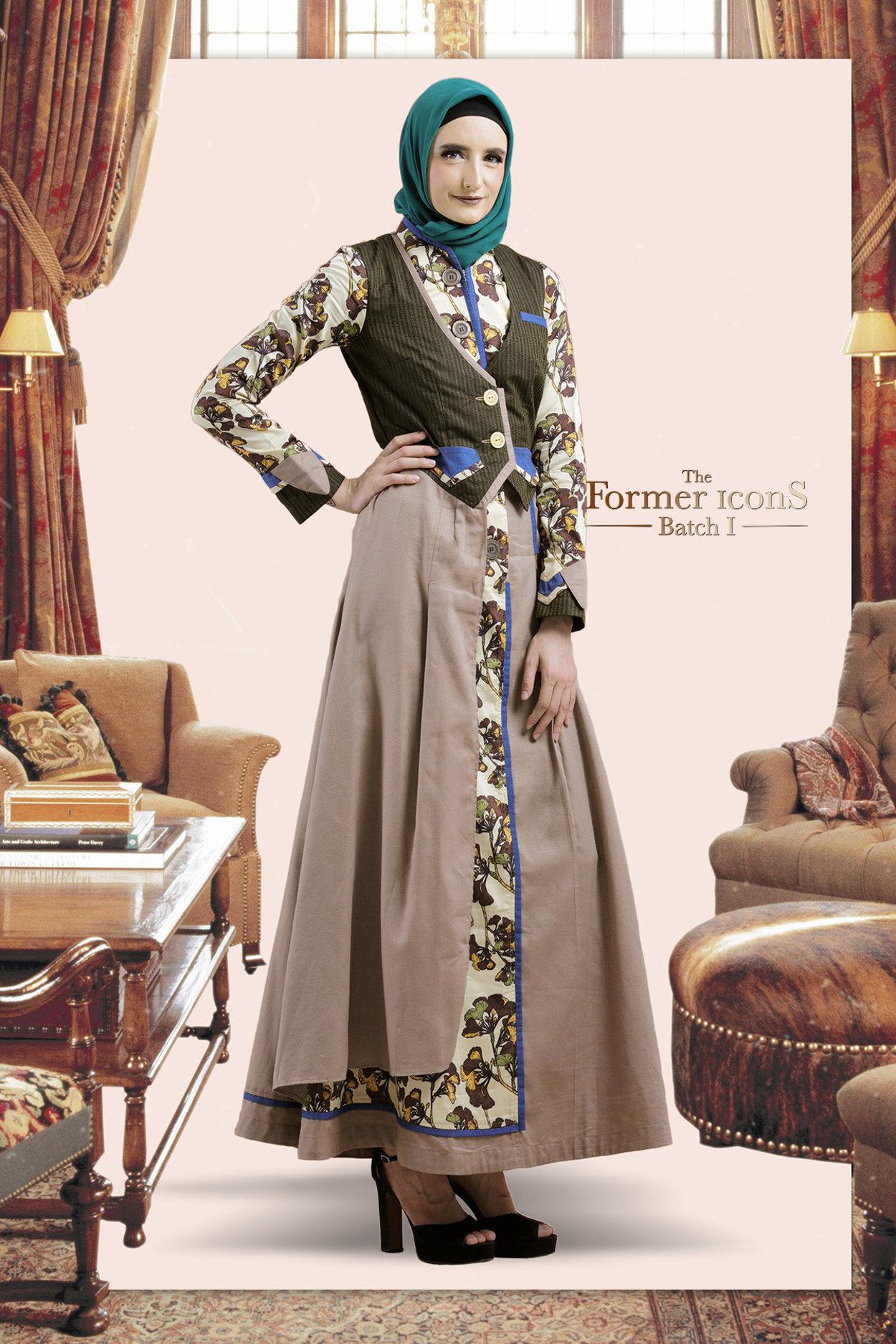 A Precious Topaz Te 0119016 Gamis Long Dress The Former Icons Batch I Tuneeca