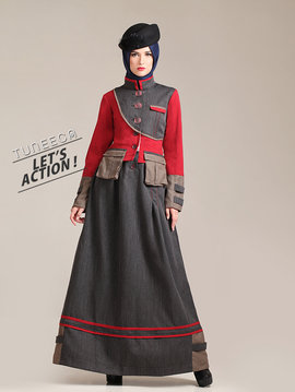 02 baju kerja casual muslim