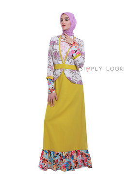 08 Lovely Color Gamis A