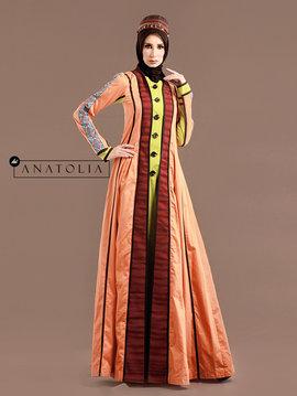 08 Abaya Jubah Feminin Elegan