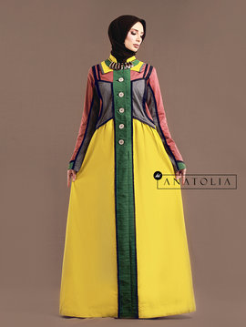 10 Abaya Dress Unik Terbaru