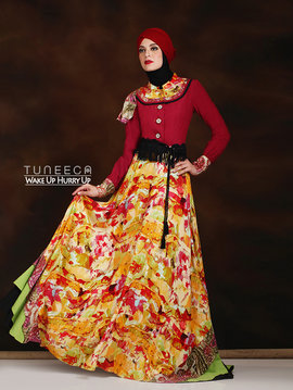 26 Maxi dress bohemian style - b