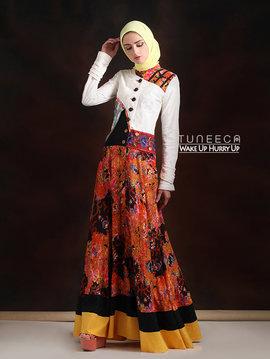 27 Dress muslim pesta