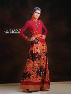 32 long dress muslim casual bohemian