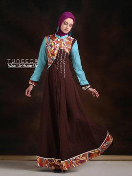 34 Maxi dress muslim simple