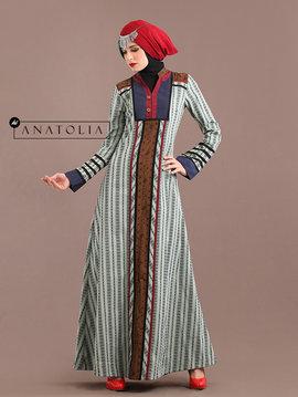 39 Abaya Dress Icy Blue