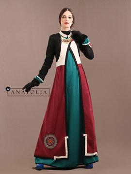 48 Abaya jubah elegan bordir