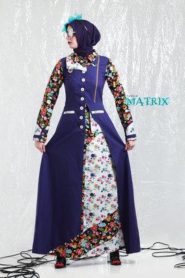 Grosir maxi dress model terbaru busana