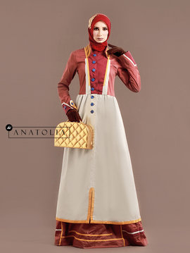 83 Long Dress Muslim Eksklusif -