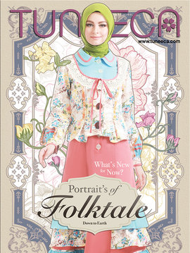 Potraits of Folktale Cover