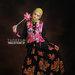03 Long dress dress muslim flower