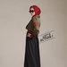 04 dress blazer muslim army - kiri