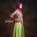 04 Long dress muslim hijau - kanan