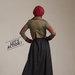 04 dress blazer muslim army - belakang