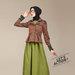 05 dress blazer muslim coklat