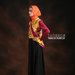 06 Bohemian gamis dress bordir - kiri
