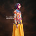07 Long dress muslim motif geometric - kanan