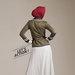 08 blazer dress muslim modis - belakang