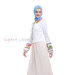 09 The White Shine Gamis A