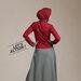 10 blazer dress muslim - belakang