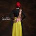 12 long dress muslim boho style - belakang