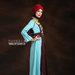 13 Baju muslim terbaru gaya bohemian - kanan