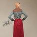 13 dress muslimah modis - belakang