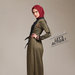 14 long dress muslim army - kanan