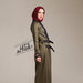 14 long dress muslim army - kiri