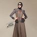 15 dress muslimah formal casual