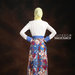 16 Long dress muslim pesta biru - belakang