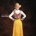 23 long dress muslim kuning - belakang
